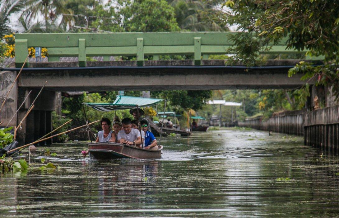 ล่องเรือคลองมหาสวัสดิ์ จัดเต็มชุมชนน่าเที่ยว by.เรื่อง/ภาพ ลานลม
