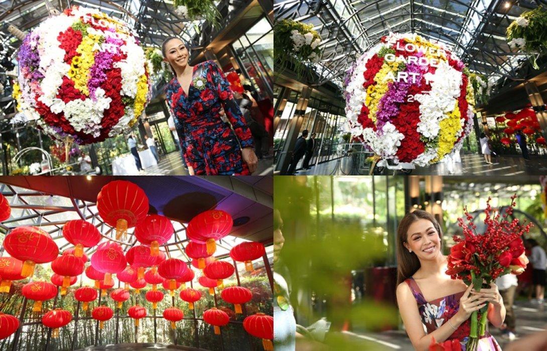 """นายเลิศ กรุ๊ป สานต่อเทศกาลงานดอกไม้ใจกลางกรุง กับงาน """"Nai Lert Flower & Garden Art Fair 2020"""" ในคอนเซ็ปต์ """"The World"""""""