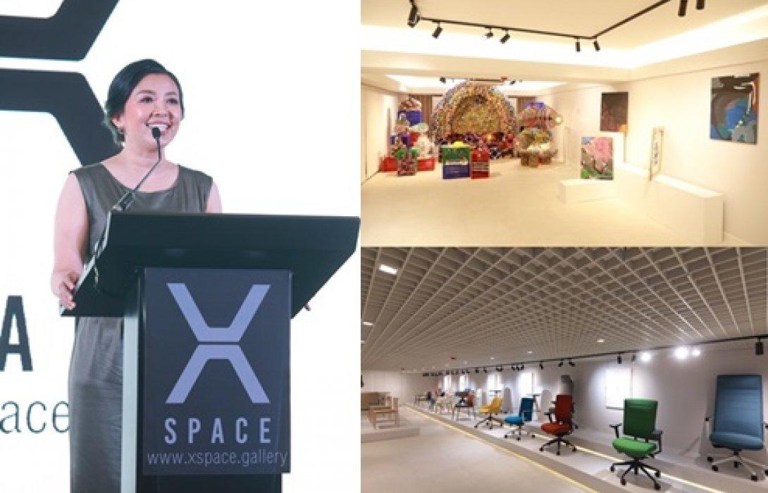 """""""XSPACE Art Gallery"""" พื้นที่เส้นทางสู่ธุรกิจสร้างสรรค์ งานศิลปะไร้ขีดจำกัด ใจกลางกรุงเทพฯ"""