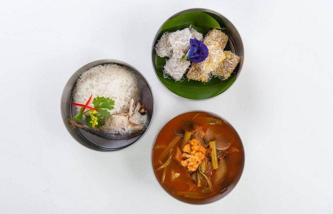 """""""กินดี Healthy ปิ่นโต"""" อาหารอร่อย สุขภาพดี  เก๋ไก๋ สไตล์ไทย"""