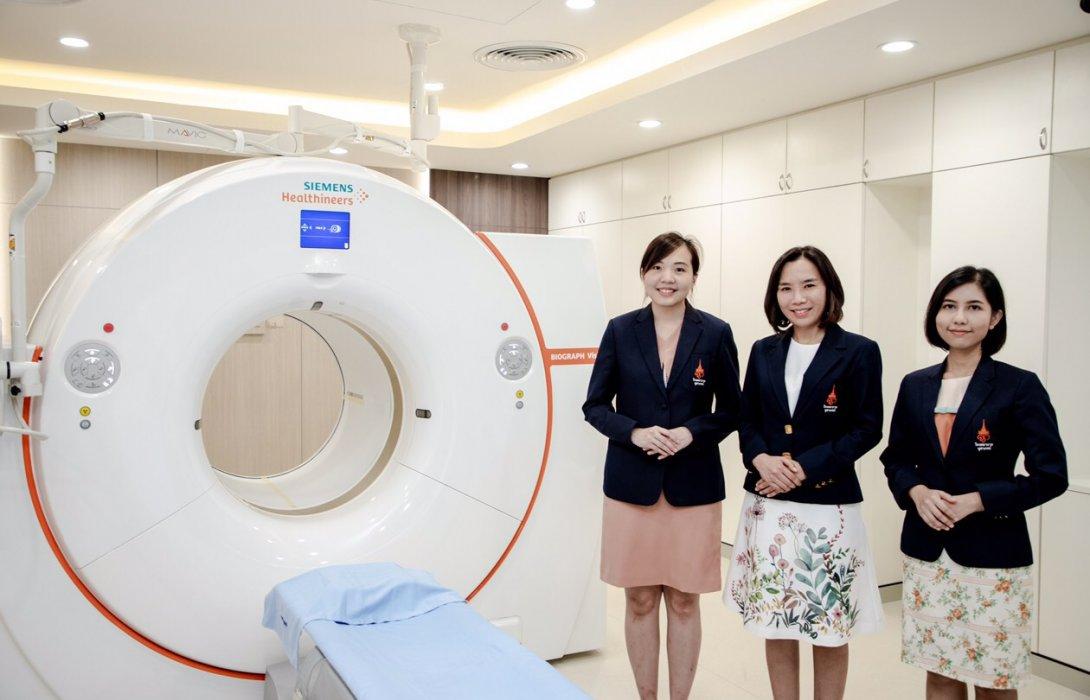 """เปิดตัว """"ดิจิทัลเพทซีที"""" ตรวจวินิจฉัยมะเร็ง ระบบประสาทและหัวใจ"""