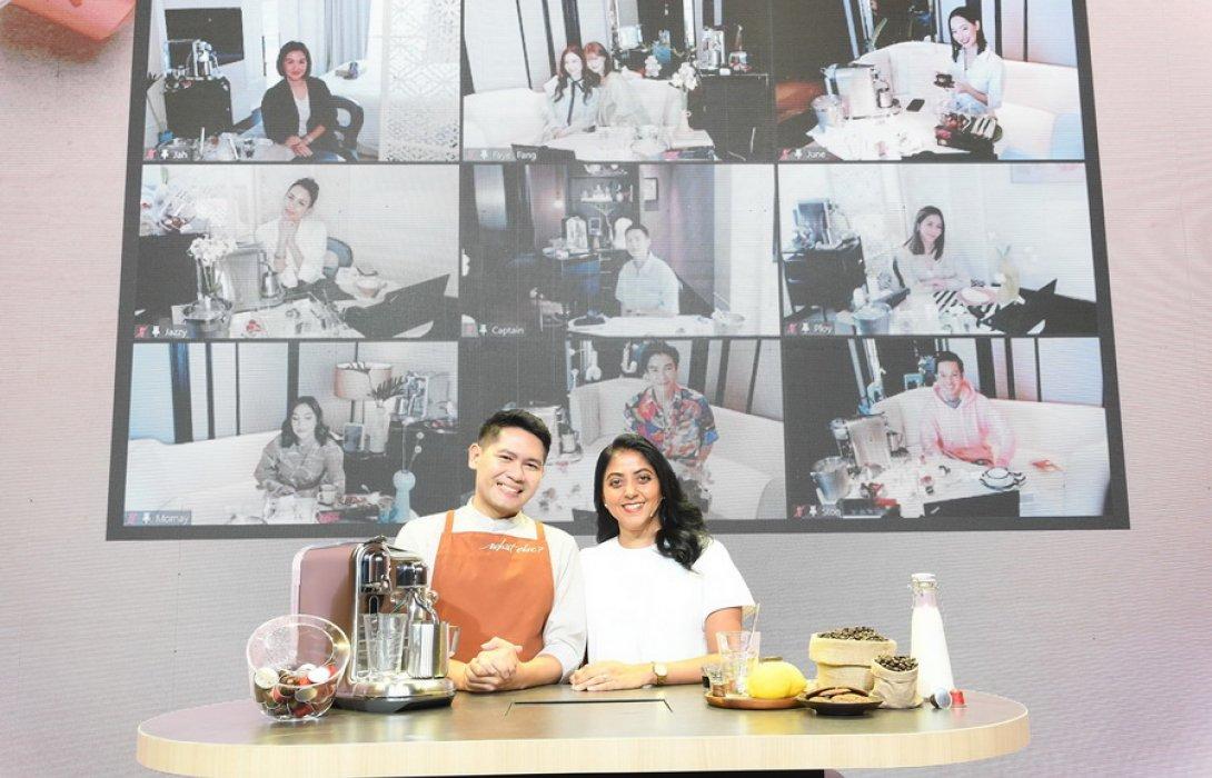 """""""เนสเพรสโซ"""" จัด 'Virtual Coffee Workshop' ตอบโจทย์ไลฟ์สไตล์ยุคนิวนอร์มัล"""