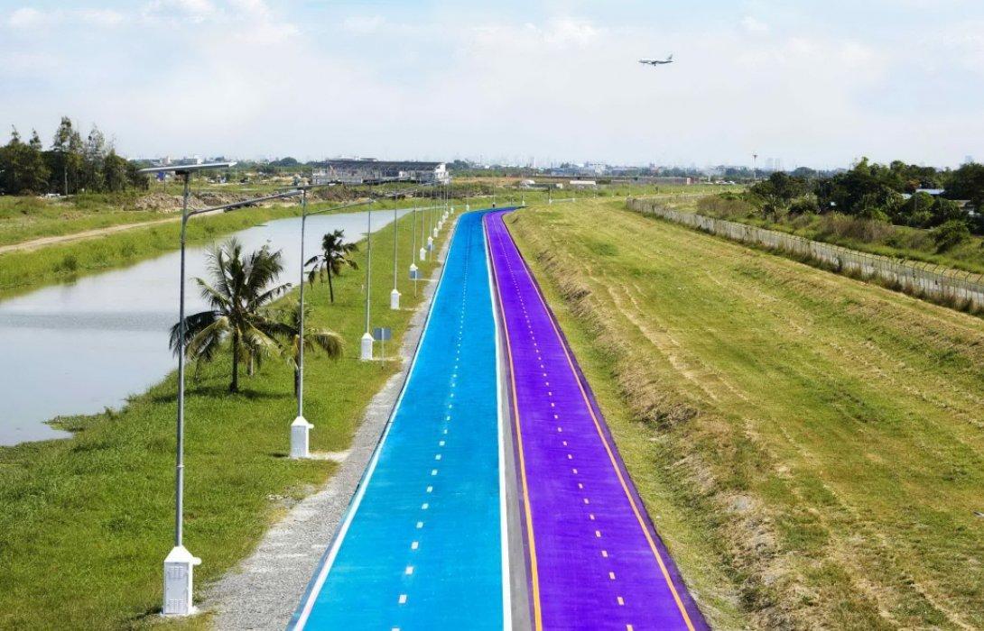 ลู่ปั่นจักรยาน SKY LANE THAILAND พร้อมเปิดให้ทดลองใช้23ธันวาคม นี้