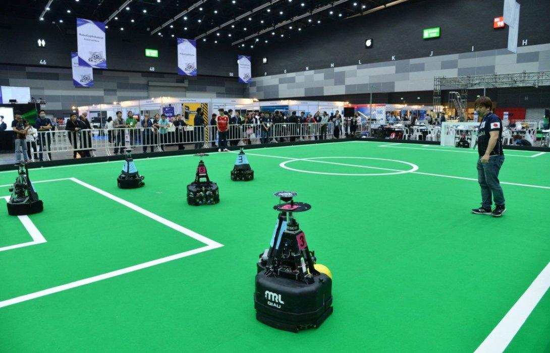 โชว์ศักยภาพวงการหุ่นยนต์ไทยเทียบชั้นระดับโลก