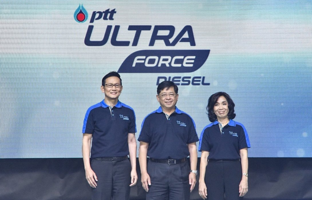 ปตท.เปิดตัวเทคโนโลยีน้ำมันสูตรใหม่PTT UltraForce Diesel นวัตกรรมแห่งความแรง