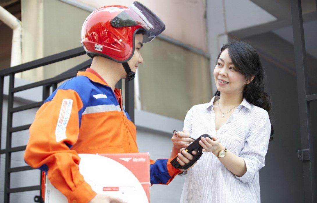 """ฉลองตรุษจีนปีนี้มีเฮ! ไปรษณีย์ไทย ชูบริการอีเอ็มเอสส่งด่วนทั่วโลก""""ยิ่งหนักยิ่งประหยัด"""""""