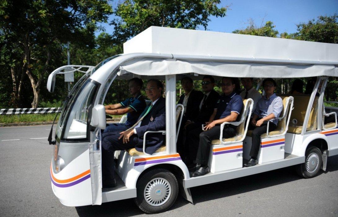รถไฟฟ้ามวล.!! ม.วลัยลักษณ์ นำรถไฟฟ้าบริการนักศึกษา-บุคลากร  มุ่งสู่ Smart & Green University