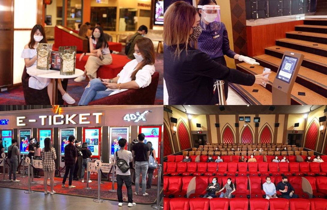 """คอหนังได้เฮ!! กันแล้ว ดีเดย์ 1 มิ.ย. โรงหนังเปิดให้บริการ ...งานนี้ """"โรงภาพยนตร์เมเจอร์ ซีนีเพล็กซ์ """" ไม่รอช้า ผุด 5 มาตรการ New Normal หลังคลายล็อกดาวน์เป็นอย่างไรบ้างไปดูกัน Let Go!!"""