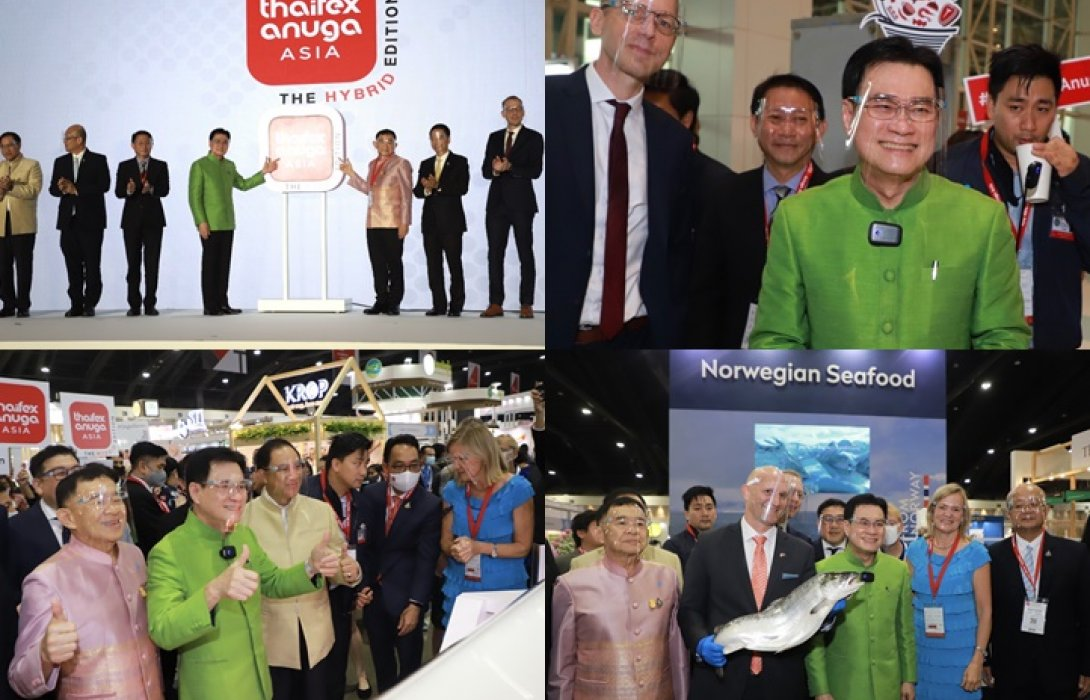 """เดินหน้าลุยส่งออก! จุรินทร์ นำพาณิชย์จัด THAIFEX–ANUGA ASIA 2020 แบบ """"The Hybrid Edition"""" นำอาหารไทยสู่ตลาดโลกสู้วิกฤติโควิด-19"""