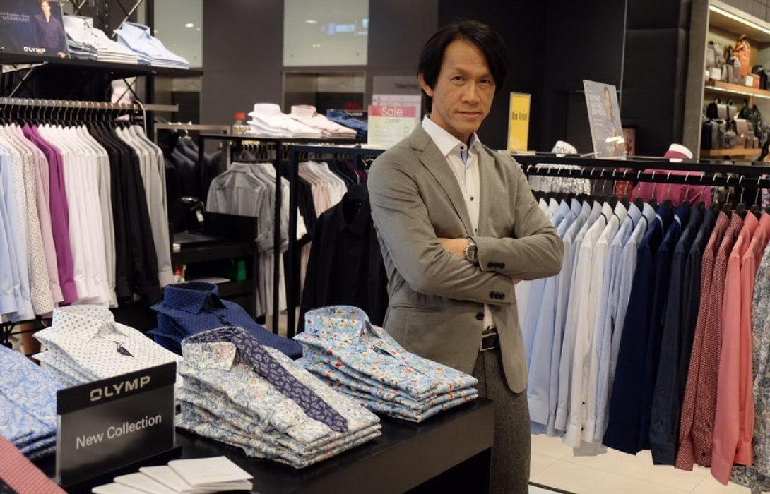 """""""ธนูลักษณ์"""" ดึง เสื้อเชิ้ตเยอรมนีแบรน์ """"โอลิมป์"""" รุกตลาดไทย"""