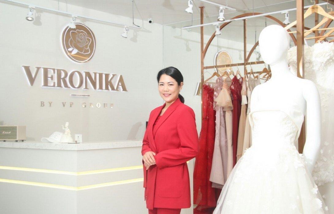"""""""เวโรนิก้า"""" เปิดแผนชิงเค้กก้อนโตธุรกิจชุดแต่งงาน เตรียมลุยตลาดอเมริกา"""