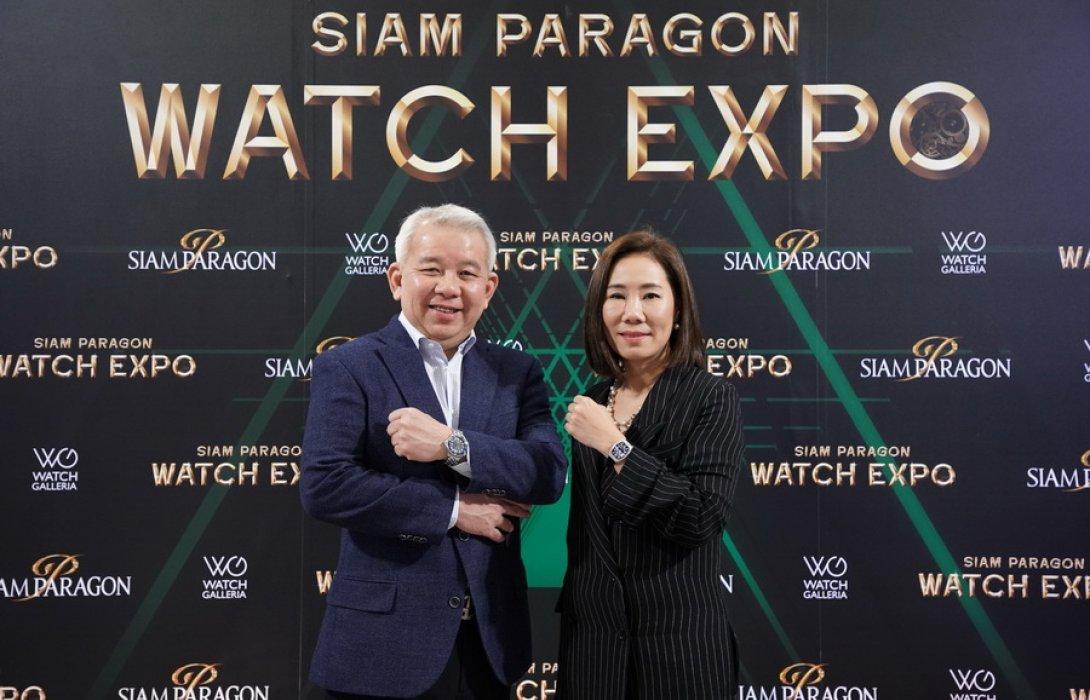 """""""สยามพารากอน"""" เผย ตลาดนาฬิกาลักซ์ชัวรี่เอเชียโตล้ำกว่า ยุโรป-เมกา  ชี้ ไทยคือหนึ่งตลาดเดสติเนชั่นสำคัญ"""