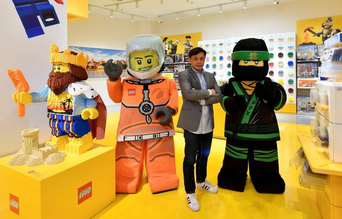 'เลโก้' เจ๋ง ปรับตัวรับมือยุคดิสรัปชันไว ไม่สะเทือน ยังสตรอง เดินหน้าเปิดช็อป