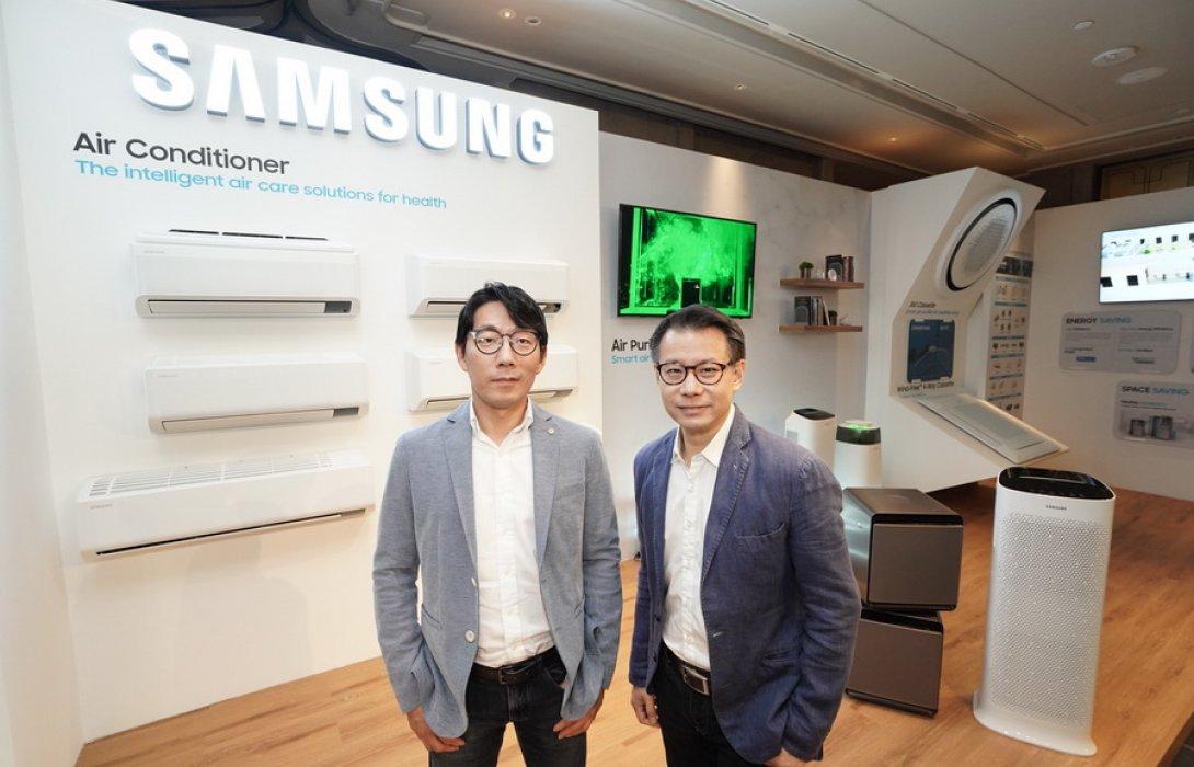"""""""ไทยซัมซุง"""" รับนโยบายบริษัทแม่ ลุยกลุ่มสมาร์ทโฮม ดันขึ้นแท่น TOP 2 แบรนด์ผู้นำเครื่องใช้ไฟฟ้าภายใน 3 ปี"""