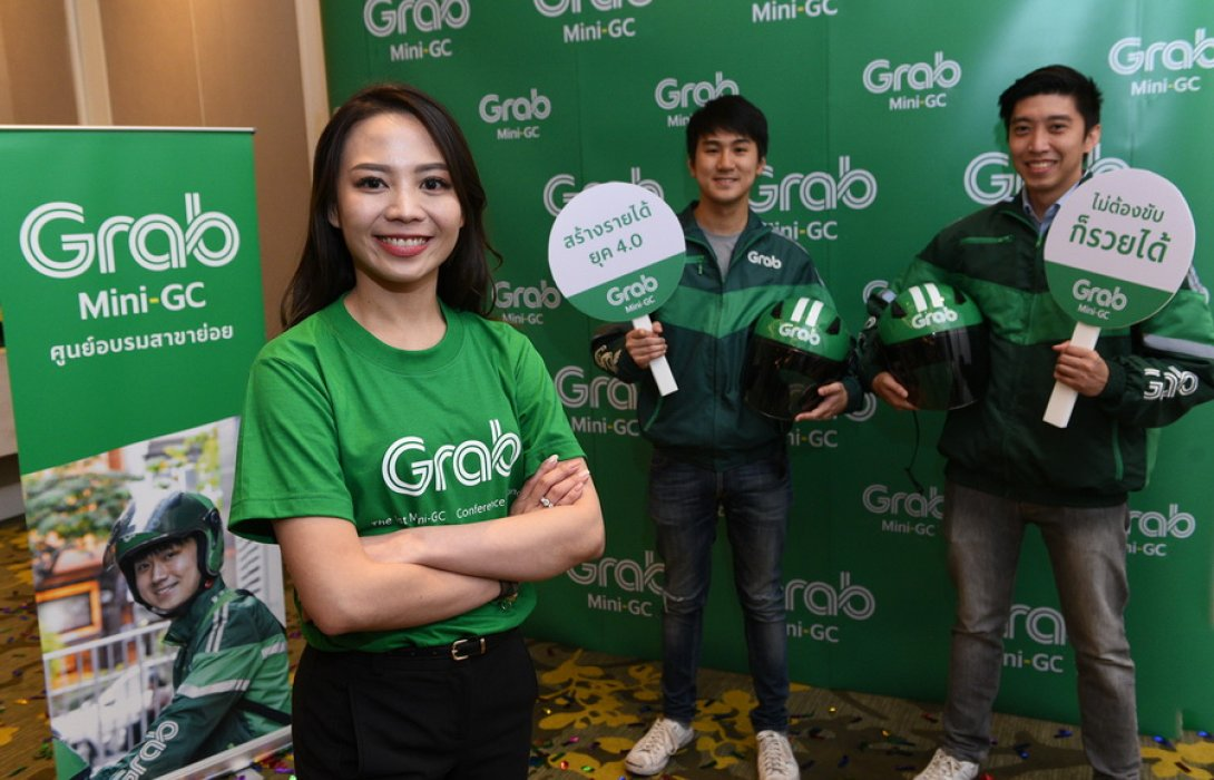 """""""แกร็บ"""" ปั้น โมเดลธุรกิจ """"Mini-GC"""" ลุยขยายบริการ 30 จังหวัดทั่วไทย"""