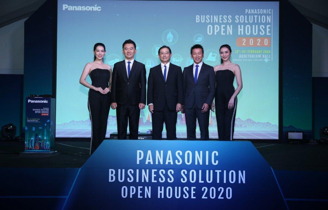 """""""พานาโซนิค"""" ทุ่มกว่า 10 ล้าน โชว์สินค้า กลุ่มซิสเต็มส์ โซลูชั่น รุกหนักตลาด B2B"""