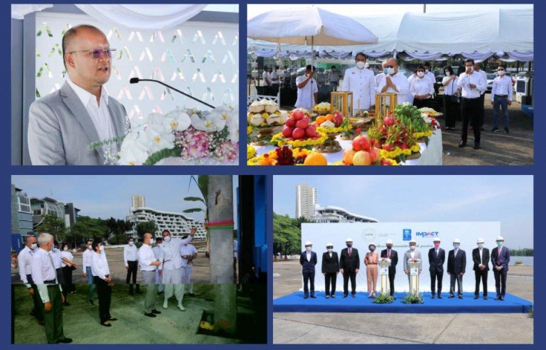 """""""บางกอกแลนด์"""" ทุ่ม 1,000 ล้าน เริ่มโครงการก่อสร้างโรงเรียนสอนประกอบอาหาร เลอโนท ประเทศไทย คาดแล้วเสร็จปลายปี 2565"""