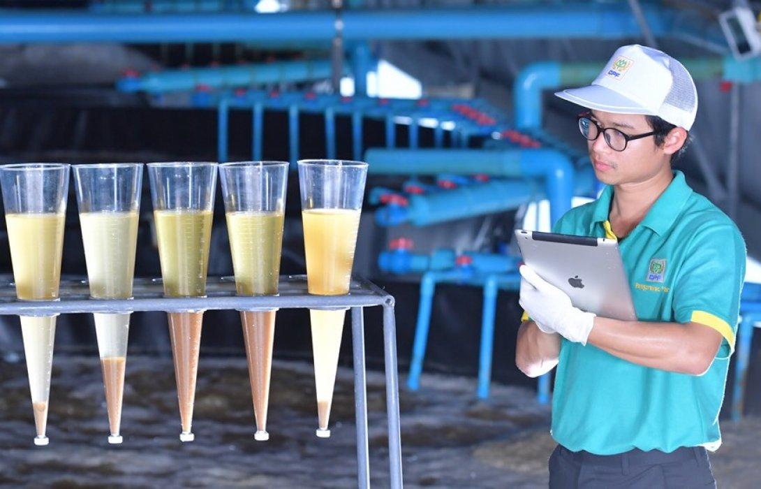 """""""ซีพีเอฟ"""" เพิ่มประสิทธิภาพการใช้น้ำตลอดกระบวนการผลิต หมุนเวียนนำน้ำกลับมาใช้ใหม่ ร่วมแบ่งปันให้ชุมชน"""