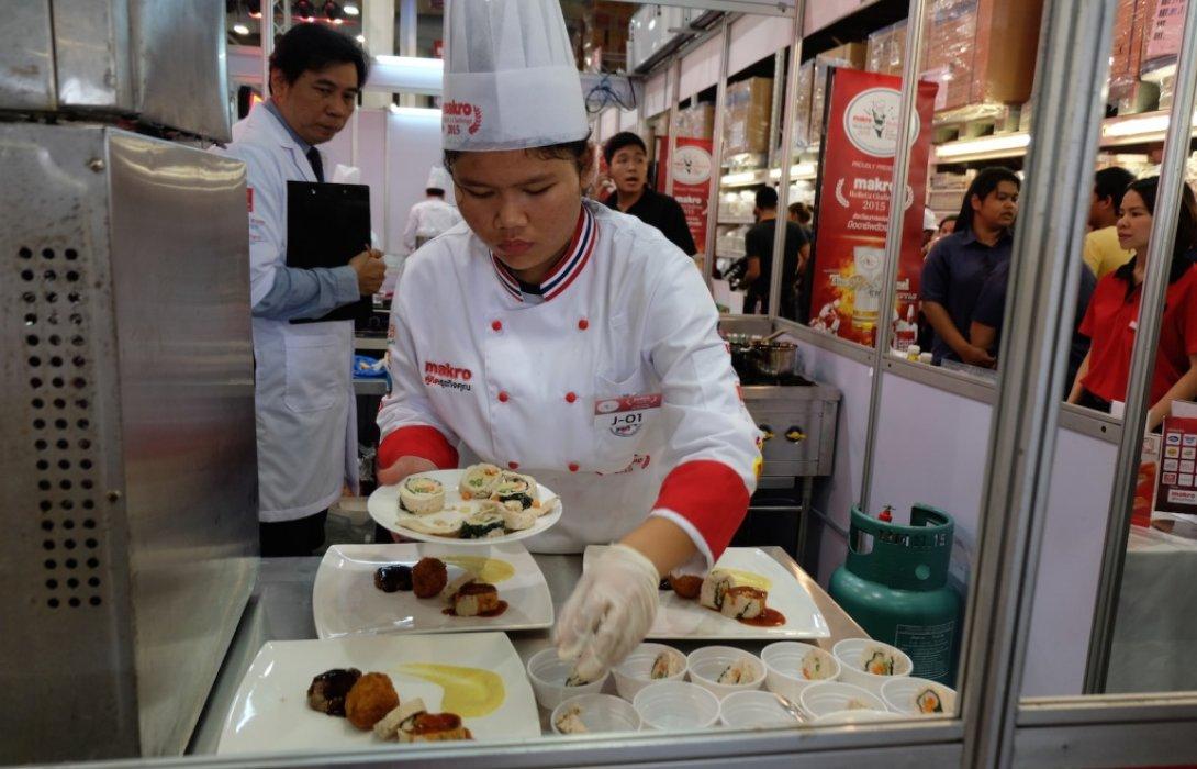 แม็คโคร จัดแข่งขัน แข่งขันปรุงอาหารไทยสตรีทฟู้ ดเมนูสร้างสรรค์