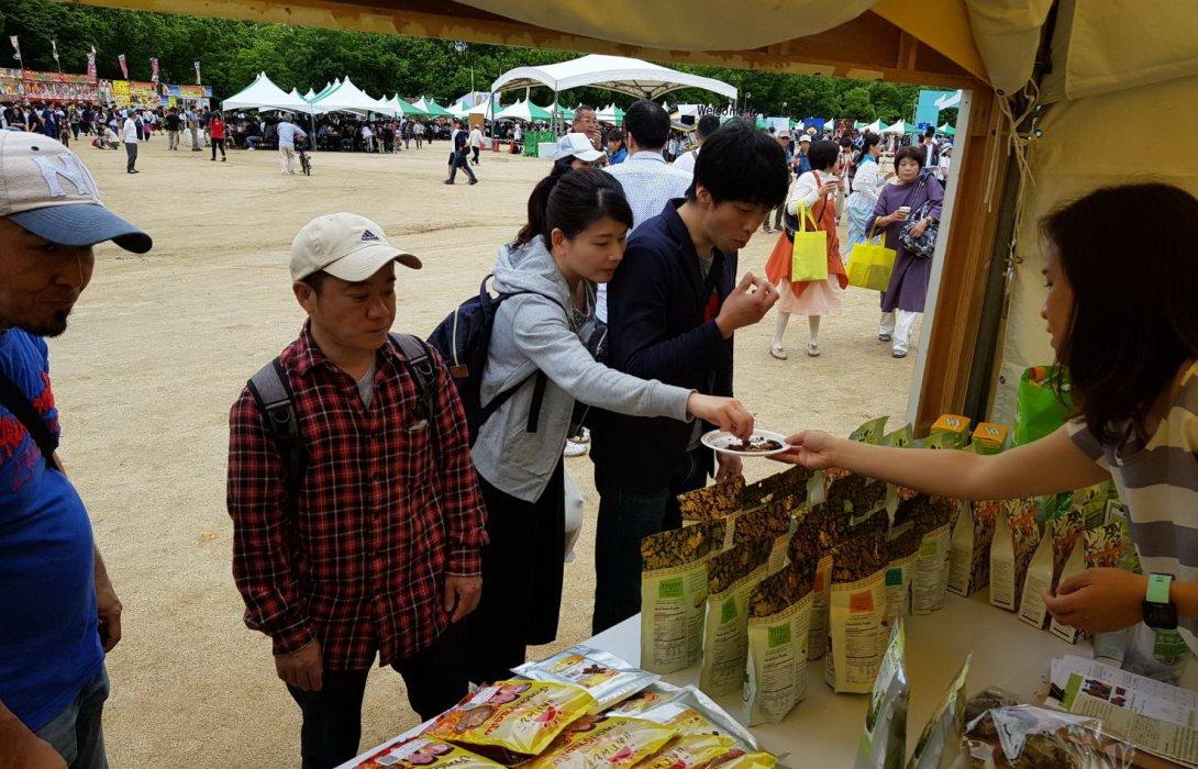 สสว.นำ10ผู้ประกอบการร่วมงานเทศกาลไทย ณ นครโอซากา ประเทศญี่ปุ่น