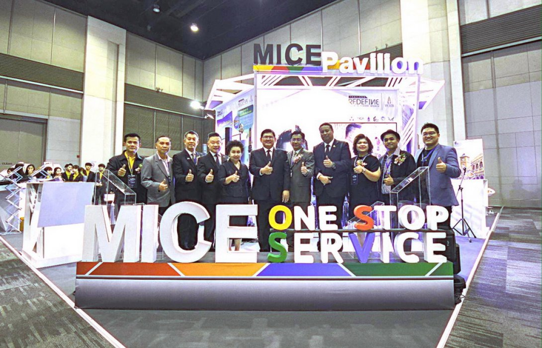 """""""สสปน."""" จับมือ 5 ภาคีไมซ์แสดงศักยภาพ MICE Pavilion กระตุ้นตลาดไมซ์ในงาน """"HR TECH 2019"""""""