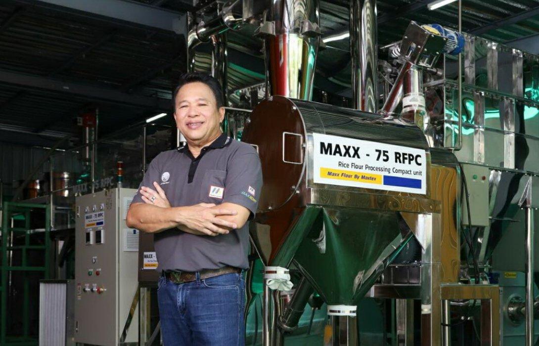 """""""แม็กซ์เท็กซ์""""  ทุ่มงบลงทุน 60 ล้านบาท ลุยธุรกิจเครื่องจักรโม่แป้งข้าวทั้งใน-ต่างประเทศ ตั้งเป้าสร้างรายได้ทั่วโลก 2 หมื่นล้านภายใน 10 ปี"""