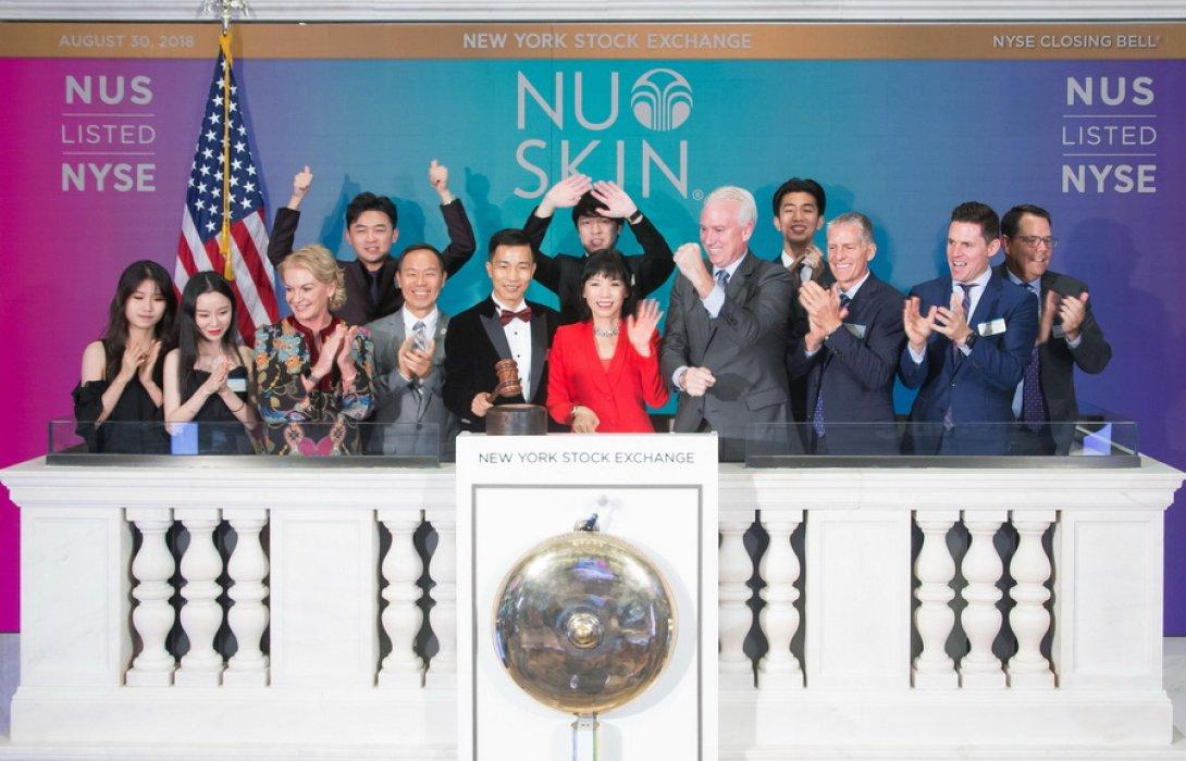 """""""นู สกิน"""" ฉลองนวัตกรรมเอจล็อค  ยอดขายทะลุ 8.5 พันล้านเหรียญสหรัฐ"""
