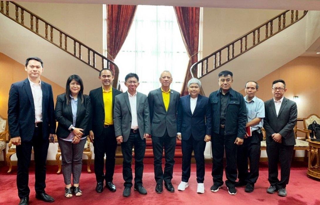เข้าพบรัฐมนตรีการท่องเที่ยวและกีฬา