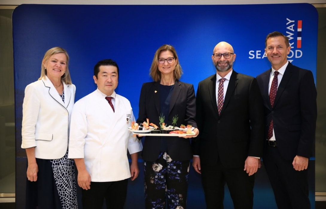 NSC ชวนเชฟซูชิระดับโลกจัดอบรม Global Sushi Academy 2019