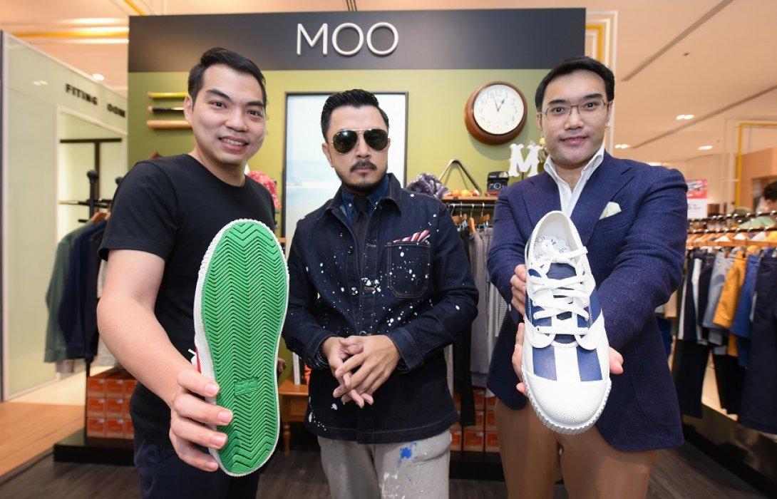 เปิดตัวรองเท้าผ้าใบ ไอเทมใหม่ของแบรนด์ไทย