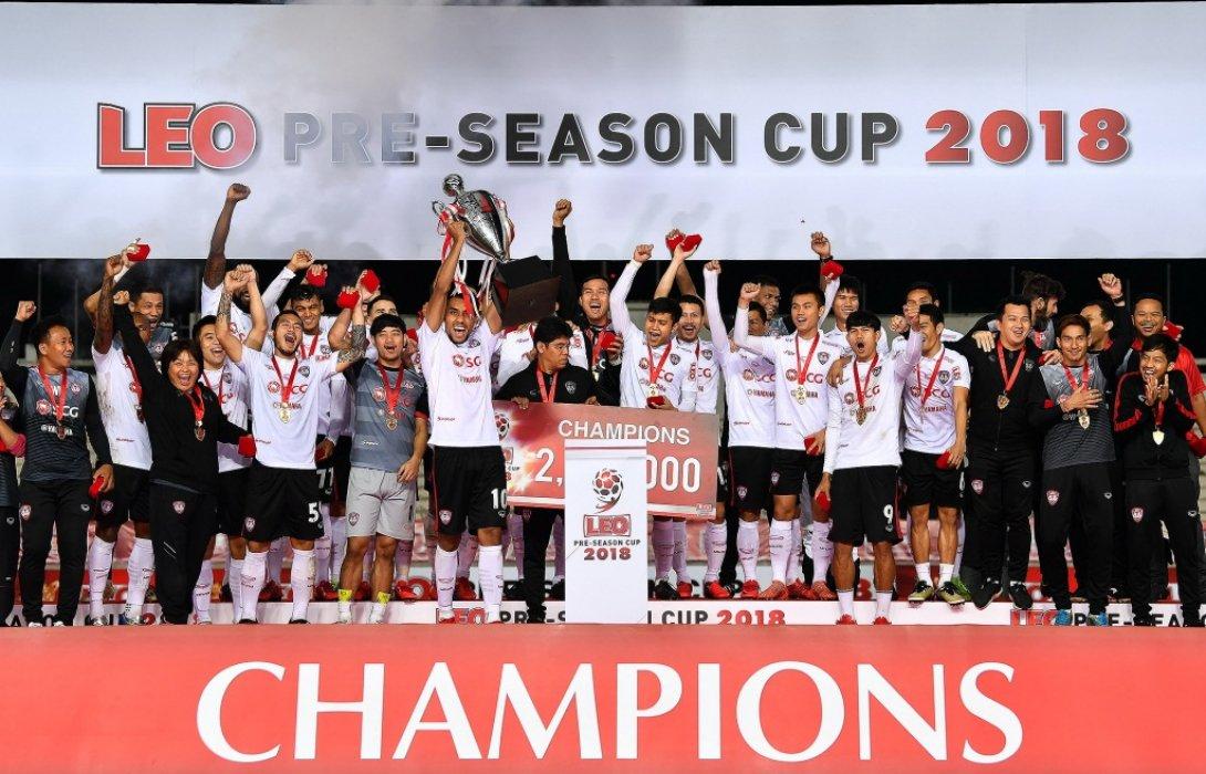 เมืองทองฯ ถล่ม โคราช5-1 ผงาดแชมป์ลีโอปรีซีซั่นรับเงินแชมป์2ล้าน
