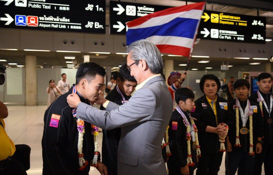 กฟผ.ยินดีทัพนักยกน้ำหนักเยาวชนไทย หลังคว้า 6 เหรียญทองจากเวทีการแข่งขันระดับโลก