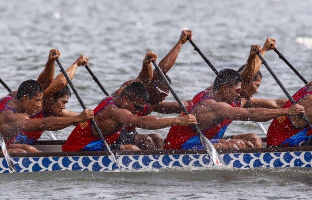 """ทัพเรือไทยโกยเพิ่ม9ทองต่อเนื่อง""""เรือยาวมังกรชิงแชมป์โลกครั้งที่14"""""""