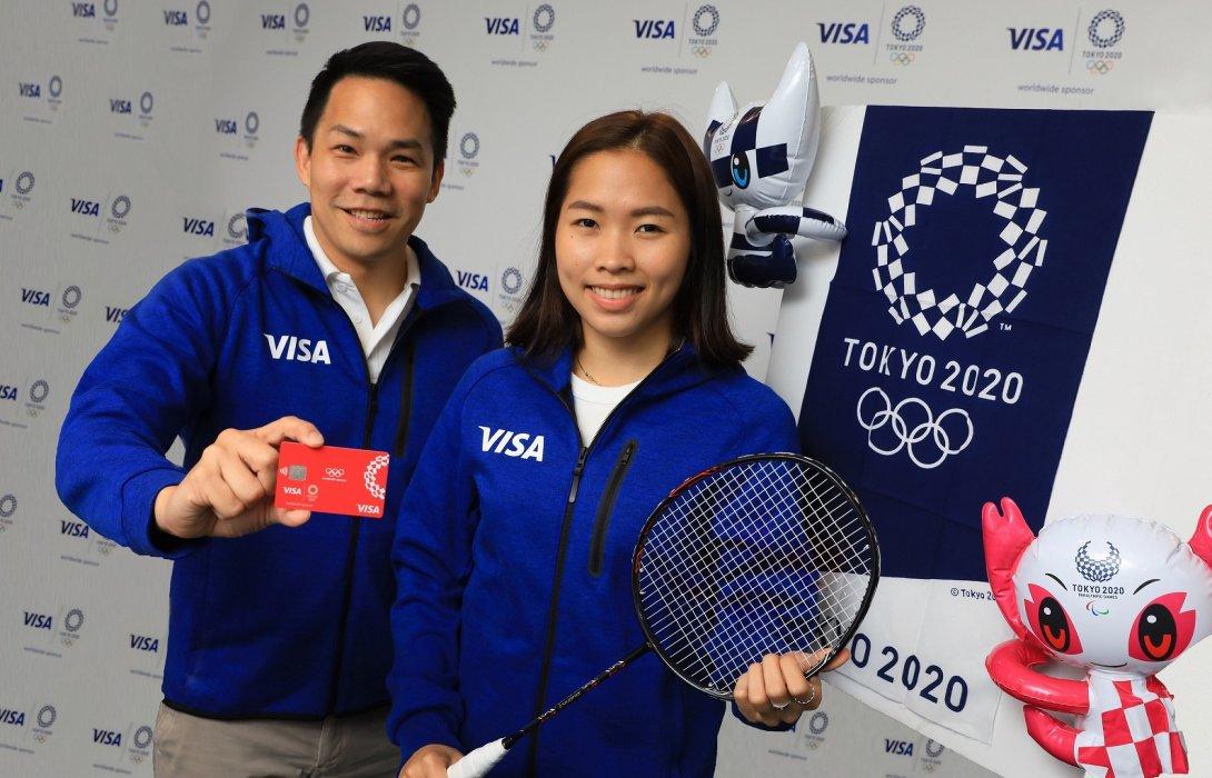 """วีซ่าเปิดตัว""""น้องเมย์""""รัชนก อินทนนท์ เข้าทีมวีซ่า เตรียมพร้อมมุ่งสู่โอลิมปิกเกมส์ โตเกียว 2020"""