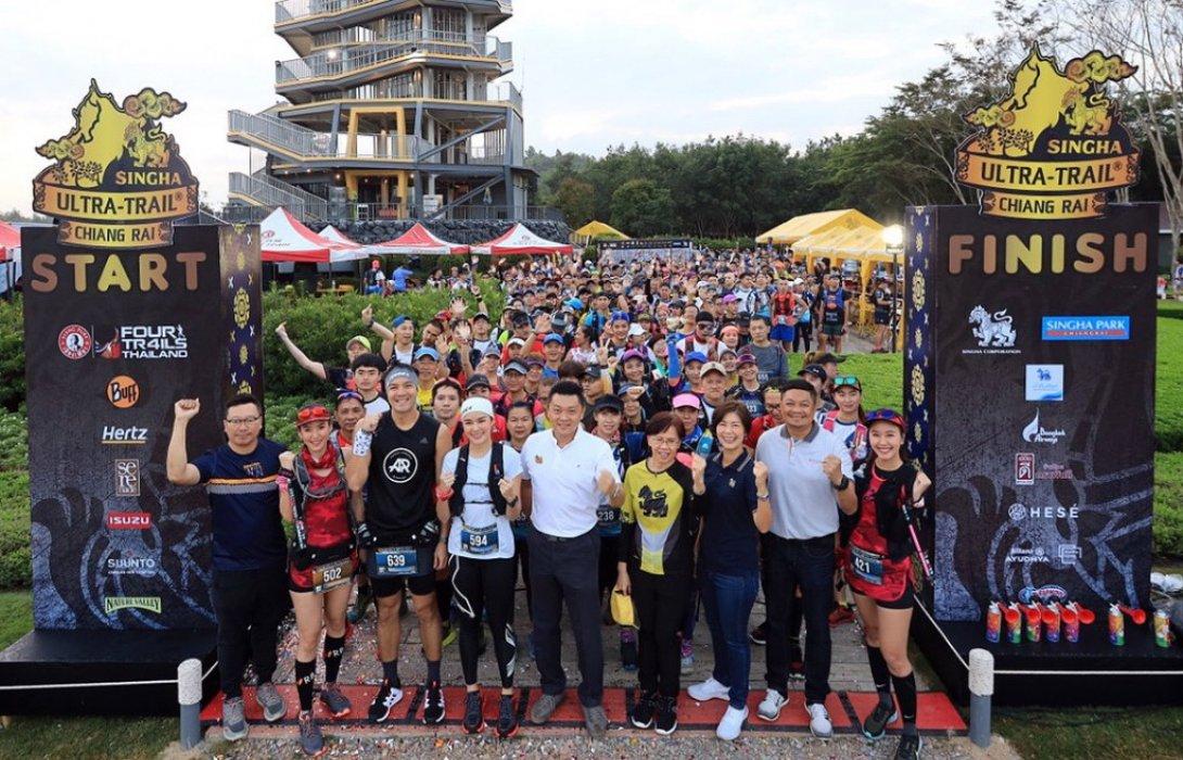 นักวิ่ง ไทย-เทศ กว่า 1,700 คน ร่วมพิชิตยอดเขาสิงห์ อัลตร้า เทรล เชียงราย 2019