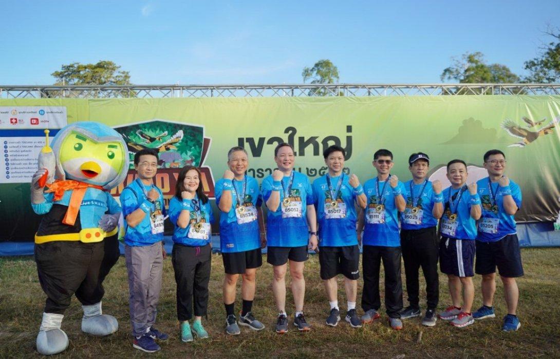 กรุงไทยสนับสนุนงานวิ่งเขาใหญ่มาราธอน2562
