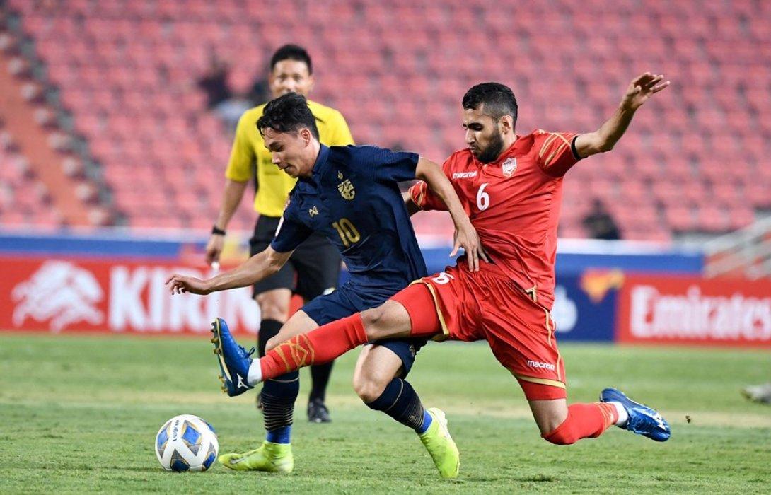 ประวัติศาสตร์! ทีมชาติไทย U23 ถล่ม บาห์เรน 5-0 ประเดิมศึกชิงแชมป์เอเชีย