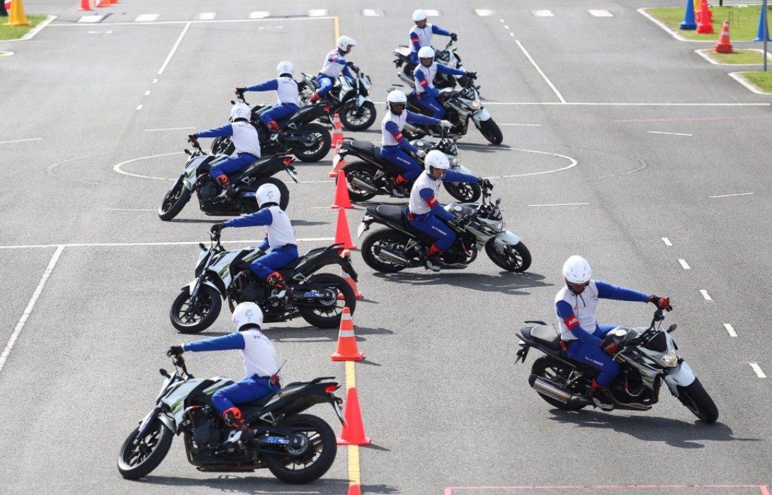 ฮอนด้าสนับสนุนการแข่งขันขับขี่ปลอดภัยเจ้าหน้าที่ตำรวจ มุ่งส่งเสริมการยกระดับทักษะการขับขี่