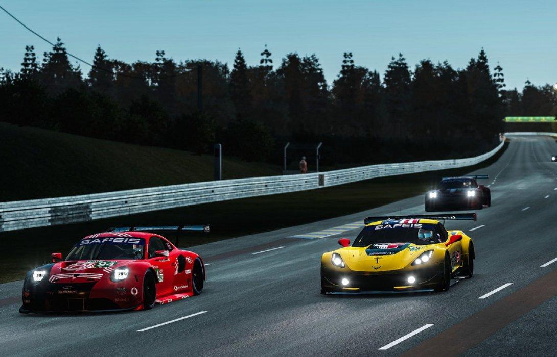 ปอร์เช่ คว้าชัยรุ่น GTE ศึกประลองความเร็วเสมือนจริง Le Mans 24 ชั่วโมง