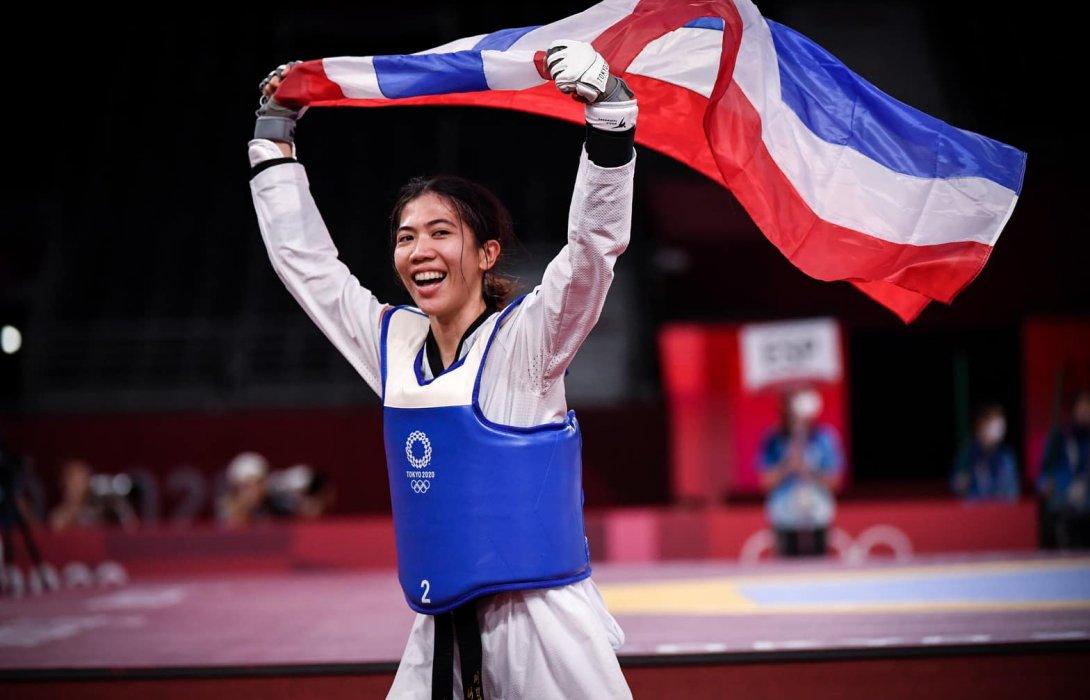 """""""น้องเทนนิส""""พาณิภัค วงศ์พัฒนกิจ คว้าเหรียญทองแรกให้ทัพนักกีฬาไทย"""
