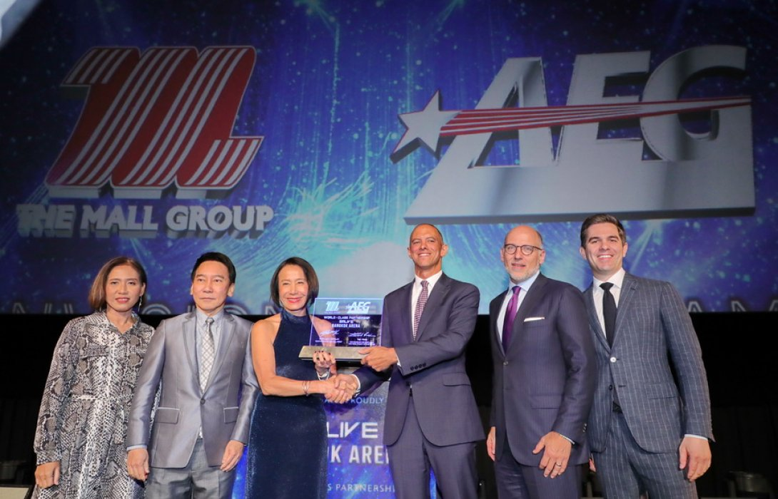 The Mall Group and AEG set a New Era of Entertainment, Sports and MICE