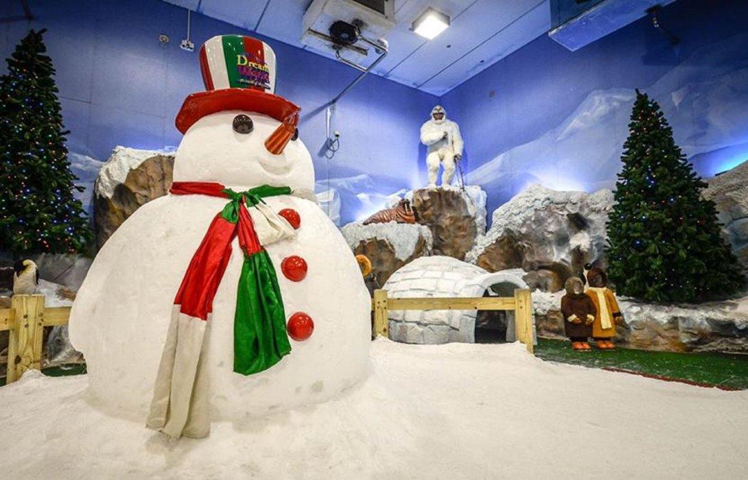 """กลับมาแล้ว !! """"เมืองหิมะ"""" ที่ดรีมเวิลด์ สนุกอย่างมั่นใจ สัมผัสหิมะตกตลอดวัน พร้อมเปิดบริการอีกครั้งเริ่ม 20 ก.ค.63"""