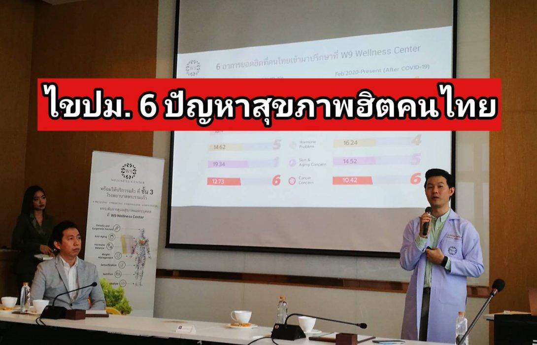 """""""W9"""" เปิดเกมรุกเจาะตลาด Wellness เมืองไทย 6.5 หมื่นล้าน"""