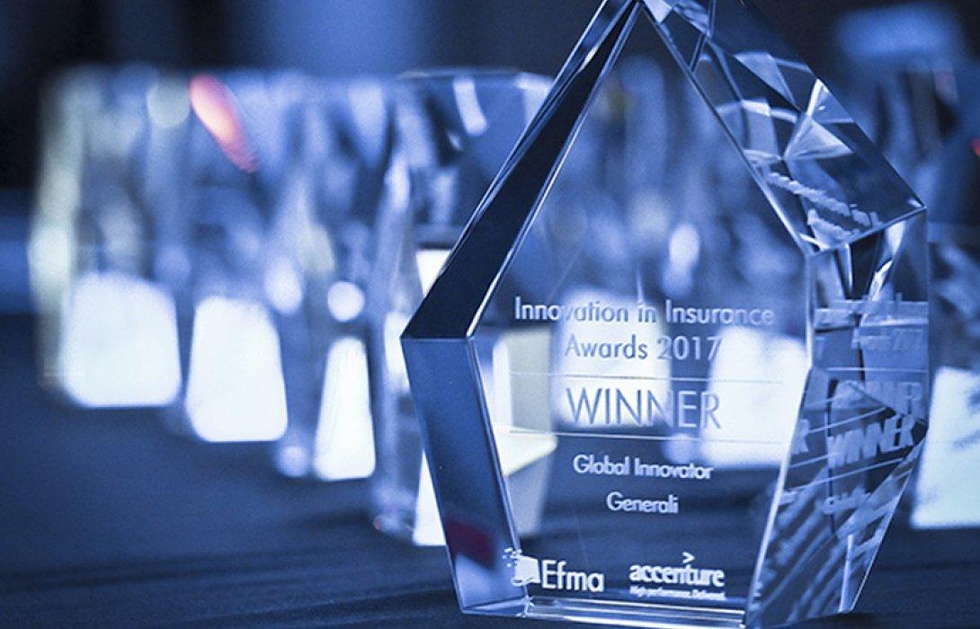 เจนเนอราลี่ คว้าสุดยอดรางวัลแห่งนวัตกรรมระดับโลก ประจำปี 2017