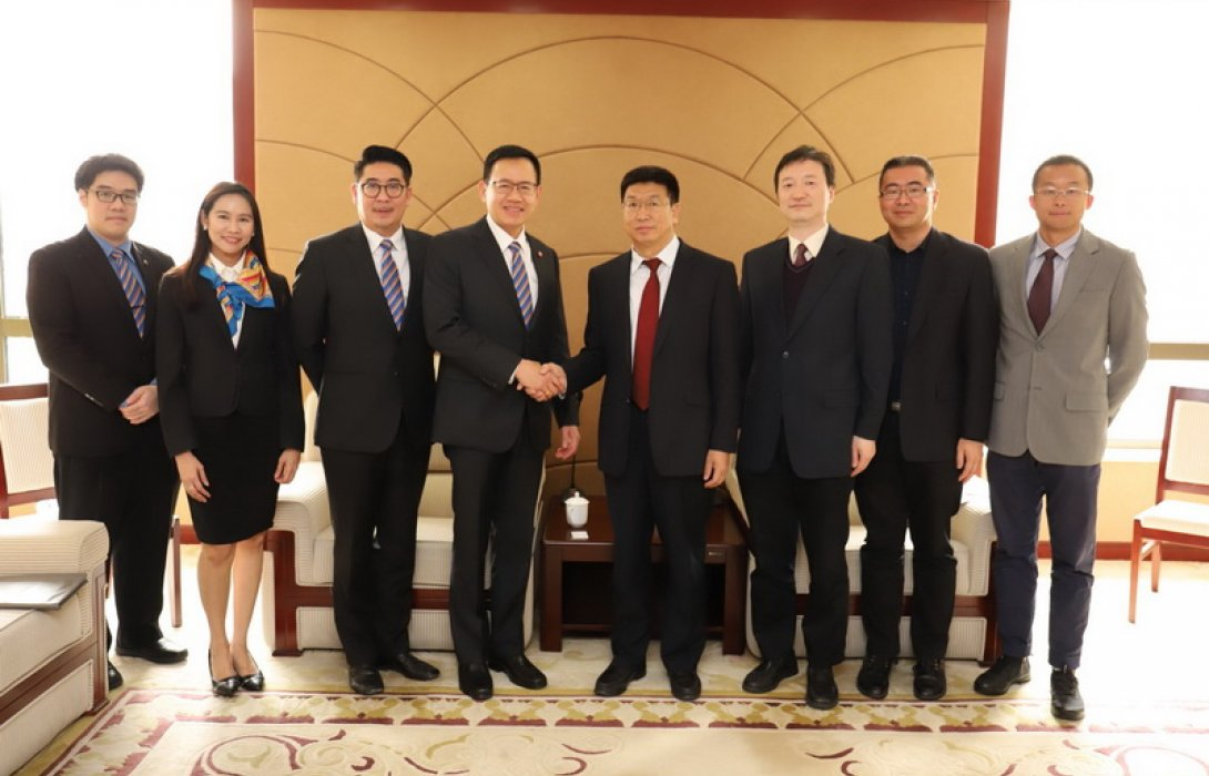 เลขาธิการ คปภ. ยกทีมบุกอาลีบาบาและหน่วยงานกำกับดูแลประกันภัยของจีน