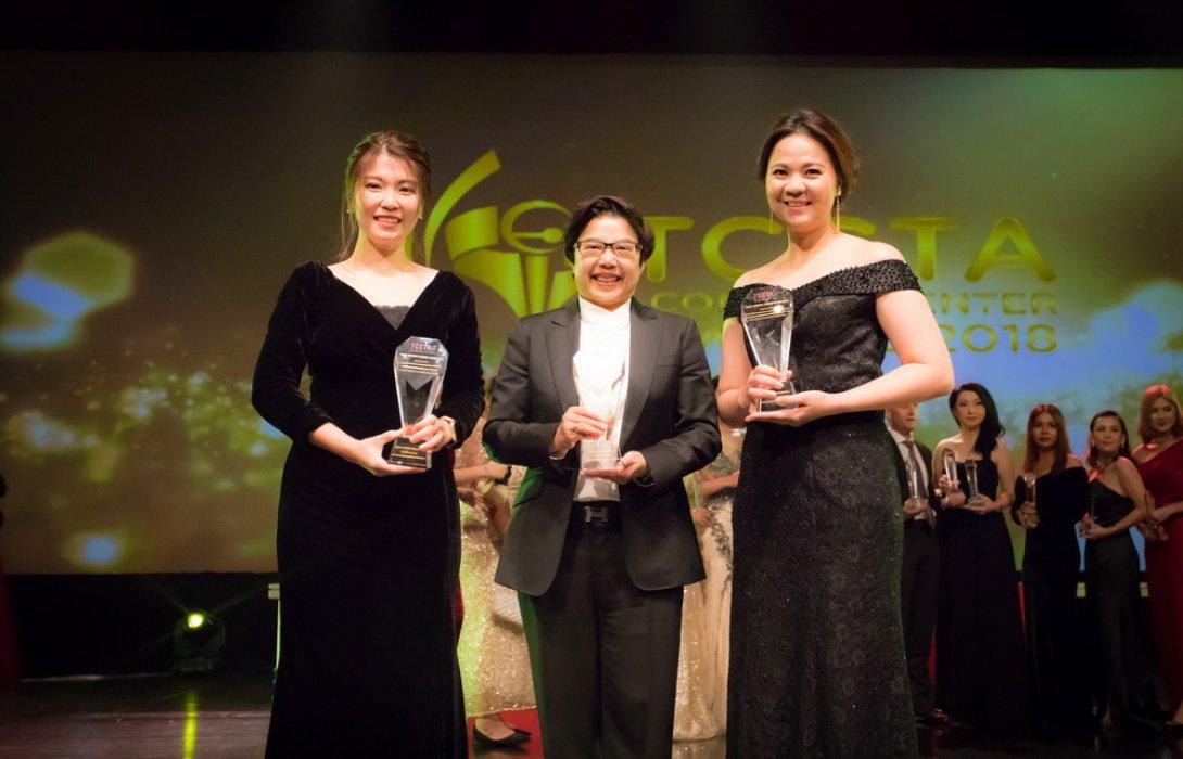 กรุงไทย-แอกซ่า ประกันชีวิต คว้า 3 รางวัลใหญ่ จาก TCCTA CONTACT CENTER AWARD 2018