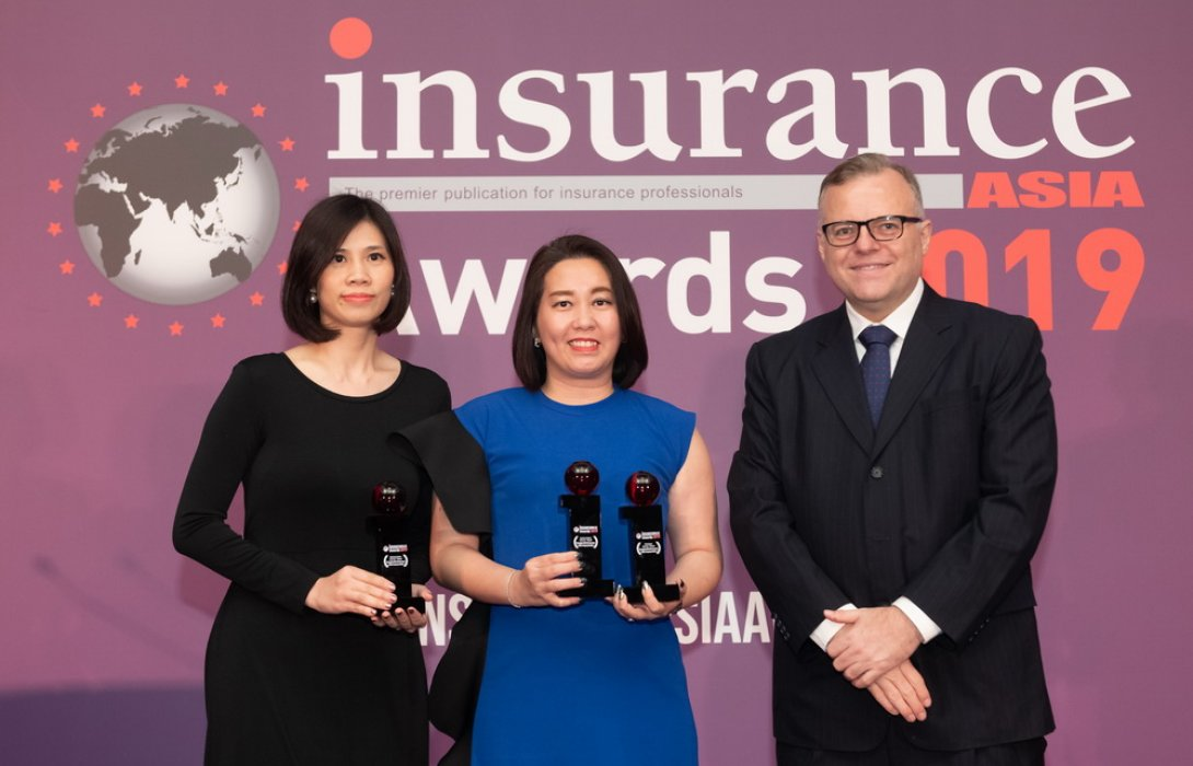 กรุงไทย-แอกซ่า ประกันชีวิต  คว้ารางวัล 3 รางวัลระดับเอเชียจาก  Insurance Asia Awards 2019