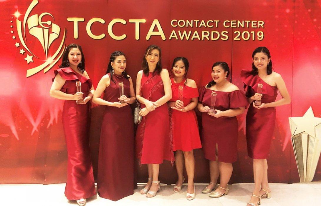 พรูเด็นเชียล ประเทศไทยคว้า 5 รางวัล ในงาน The Best Thailand Contact Center Award 2019