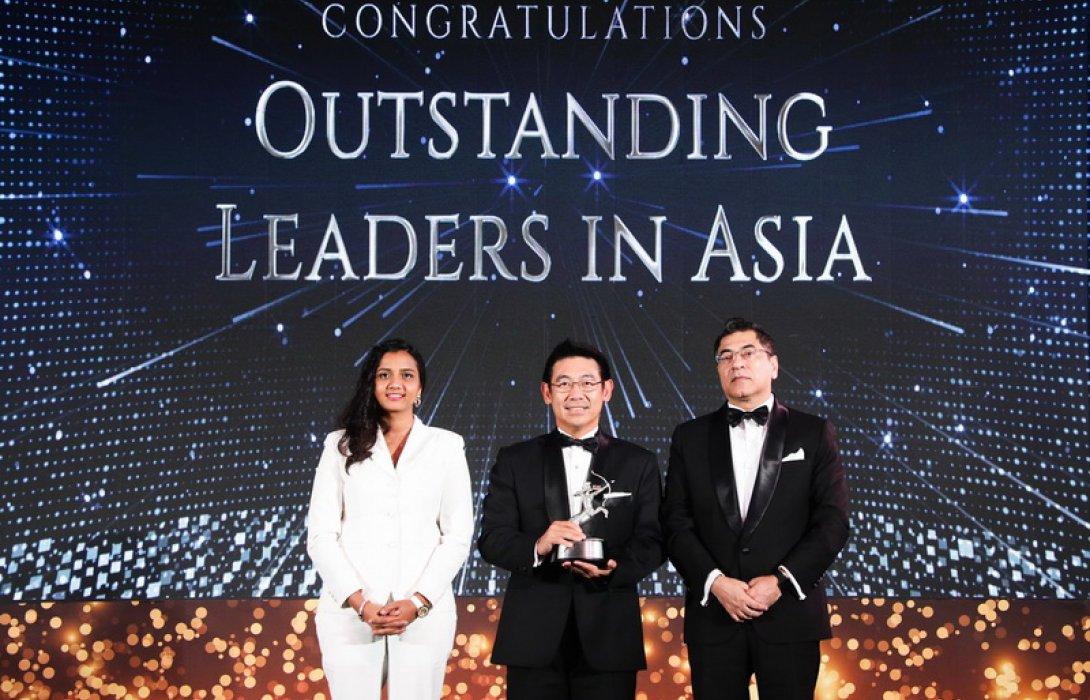 """""""บัณฑิต"""" ซีอีโอ เจนเนอราลี่ไทยแลนด์ คว้าสุดยอดผู้นำแห่งเอเชีย"""