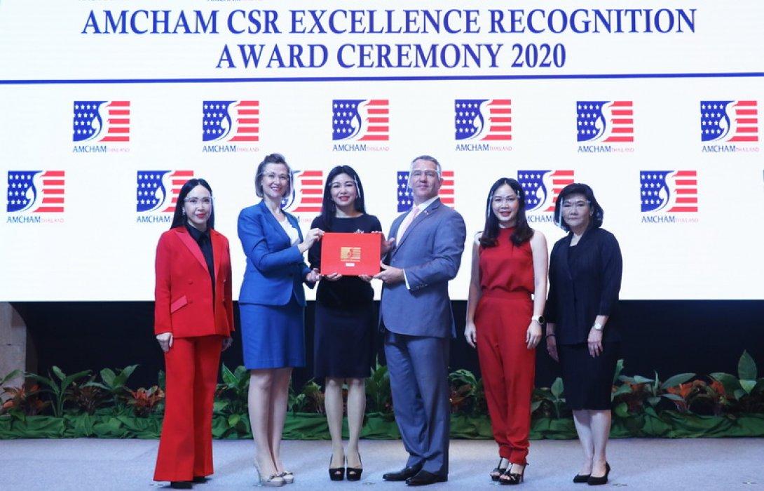 เอไอเอ ประเทศไทย คว้ารางวัลดีเด่นด้านกิจการเพื่อสังคม จากสภาหอการค้าอเมริกัน (AMCHAM CSR Excellence Recognition Award) ติดต่อกันเป็นปีที่ 9